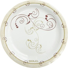 SCC MP6J8001 Solo Cup Heavyweight Paper Plates SCCMP6J8001