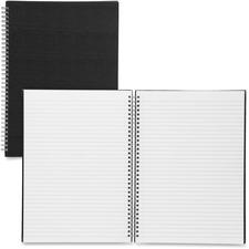SPR 17708 Sparco Black Linen Cover A4 Notebook SPR17708