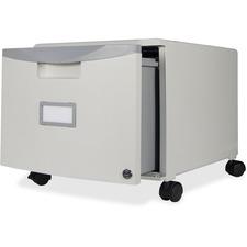 "STX 61254U01C Storex Ind. 18"" Mobile Filing Cabinet STX61254U01C"