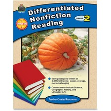 TCR 2919 Teacher Created Res. Gr 2 Differentiated Readg Bk TCR2919