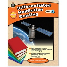 TCR 2921 Teacher Created Res. Gr 4 Differentiated Readg Bk TCR2921
