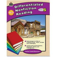 TCR 2922 Teacher Created Res. Gr 5 Differentiated Readg Bk TCR2922