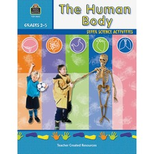 TCR 3662 Teacher Created Res. Gr 2-5 Human Body Workbook TCR3662