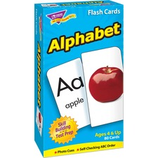 TEP 53012 Trend Alphabet Flash Cards TEP53012