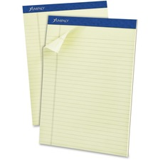 TOP 20375 Tops Top-bound Green Tint Ruled Writing Pads TOP20375