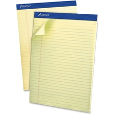 TOP 20420 Tops Top-bound Green Tint Ruled Writing Pads TOP20420