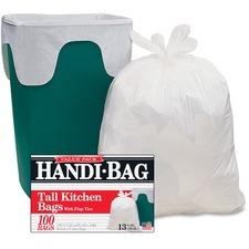 WBI HAB6FK100 Webster Handi-Bag Flap Tie Tall Kitchen Bags WBIHAB6FK100