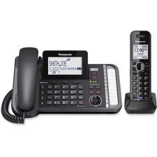 PAN KXTG9581B Panasonic KXTG9581B 2-line Phone PANKXTG9581B