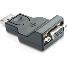 Comprehensive DisplayPort Male to VGA Female Adapter
