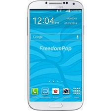 "FreedomPop Galaxy S4 16 GB Smartphone - 4G - 5"" Super AMOLED 1920 x 1080 Full HD Touchscreen - Qualcomm Snapdragon 600 Quad-core (4 Core) 1.90 GHz - 2 GB RAM - 13 Megapixel Rear/2 Megapixel Front - Android 4.2.2 Jelly Bean - SIM-free - White - Pre-owned"