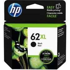 HP 62XL (C2P05AN) Original Ink Cartridge - Inkjet - High Yield - 600 Pages - Black - 1 Each