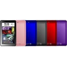 "Visual Land Prestige Elite 9Q Tablet - 9"" - 1 GB DDR3 SDRAM Quad-core (4 Core) 1.60 GHz - 8 GB - Android 4.4 KitKat - 1024 x 600 - Blue"