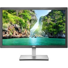 "AOC e2476Vwm6 23.6"" Anti-Blue Light LED Monitor with HDMI and 1ms response"