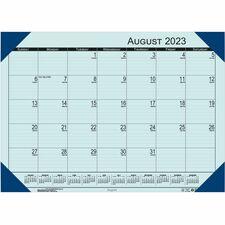 HOD 012540 Doolittle EcoTones Academic Calendar Desk Pad HOD012540