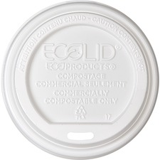 ECO EPECOLID8 Eco-Products Renewable EcoLid Hot Cup Lids ECOEPECOLID8