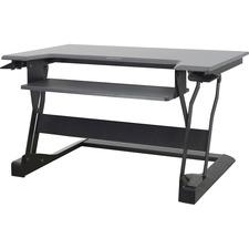 ERG 33397062 Ergotron WorkFit-T White Standing Desk Workstation ERG33397062