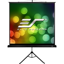 "Elite Screens Tripod T71SB Manual Projection Screen - 71"" - 1:1 - Surface Mount"
