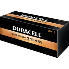 DUR 01601 Duracell CopperTop 9-Volt Batteries DUR01601