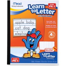 MEA 48122 Mead Learn To Letter Writing Book MEA48122