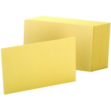 OXF 7420CAN Oxford Colored Blank Index Cards OXF7420CAN