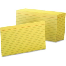 OXF 7421CAN Oxford Colored Ruled Index Cards OXF7421CAN