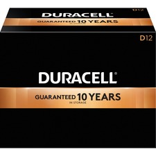 DUR 01301 Duracell CopperTop D Batteries DUR01301