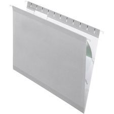 PFX 415315GRA Pendaflex Reinforced Hanging Folders PFX415315GRA