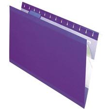 PFX 415315VIO Pendaflex Reinforced Hanging Folders PFX415315VIO