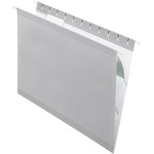 PFX 415215GRA Pendaflex Reinforced Hanging Folders PFX415215GRA