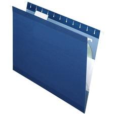 PFX 415215NAV Pendaflex Reinforced Hanging Folders PFX415215NAV