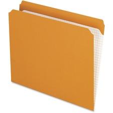 PFX R152ORA Pendaflex Reinforced Top Color File Folders PFXR152ORA