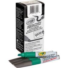 CYO 986012A044 Crayola Visi-Max Dry-Erase Markers CYO986012A044