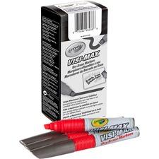 CYO 986012A038 Crayola Visi-Max Dry-Erase Markers CYO986012A038