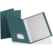 OXF 57755 Oxford Twin Pocket 3-hole Fastener Folders  OXF57755