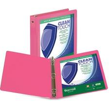 SAM 17236 Samsill Berry Clean Touch Antimicrobial Vw Binder SAM17236