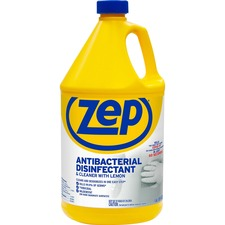 ZPE ZUBAC128 Zep Inc. Antibacterial Disinfectant Lemon Cleaner ZPEZUBAC128