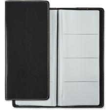 Winnable Business Card Holder - NC-96 BK - 96 Capacity Width - Black Cover