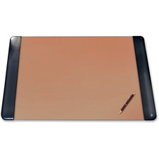 "Artistic Classic Padded Sides Blotter Desk Pad - Rectangle - 30"" (762 mm) Width x 20"" (508 mm) Depth"