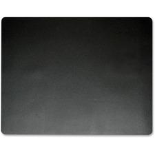 "Artistic Nonglare Antimicrobial Desk Pad - Rectangle - 17"" (431.80 mm) Width x 12"" (304.80 mm) Depth - Black"