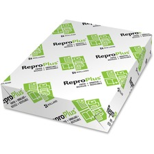"""Rolland ReproPlus 3-Hole Punched Laser, Inkjet Recycled Paper - White - Recycled - 30% - Letter - 8 1/2"""" x 11"""" - 20 lb Basis Weight - 500 / Pack"""