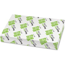 """Rolland ReproPlus Laser, Inkjet Recycled Paper - White - Recycled - 30% - Tabloid - 11"""" x 17"""" - 20 lb Basis Weight - 500 / Ream"""