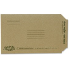 "Seal-It Earth Hugger Photo/Document Mailers - Multipurpose - 8 1/2"" Width x 5 3/4"" Length - Kraft - 1 Each"