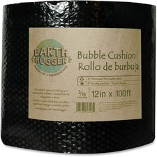 """Earth Hugger High-Quality Bubble Cushion - 12"""" (304.80 mm) Width x 100 ft (30480 mm) Length - 0.2"""" Bubble Size - Cushioned, Environmentally Friendly, Perforated, Easy Tear - Plastic"""