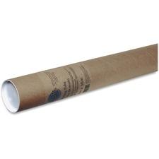 "Seal-It Mailing Tube - 36"" Length - Kraft - 1 Each"