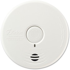 Kidde Photoelectric Smoke Alarm - Fire Detection - Wall Mount, Ceiling Mount - White