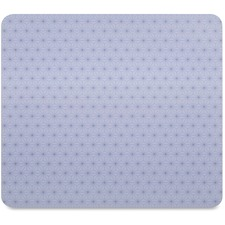 "3M Precise Nonskid Reposition Bitmap Mouse Pad - Gray Frostbyte - 8"" (203.20 mm) Dimension - Foam"