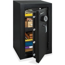 """Sentry Safe Executive Fire-Safe-EF4738E - 133.01 L - Programmable, Electronic, Combination Lock - Water Resistant, Fire Resistant - Internal Size 35.7"""" x 19.4"""" x 11.7"""" - Overall Size 37.7"""" x 21.7"""" x 19"""""""