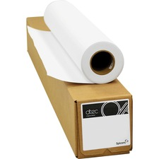 """Spicers Paper Aqueous Inkjet Bond Paper - White - 36"""" x 150 ft - 20 lb Basis Weight - 1 / Roll"""