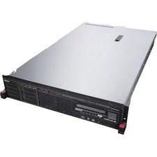 Lenovo ThinkServer RD450 70DC001FUX 2U Rack Server - 1 x Intel Xeon E5-2630 v3 Octa-core (8 Core) 2.40 GHz - 8 GB Installed DDR4 SDRAM - Serial ATA/600 Controller - 0, 1, 10 RAID Levels - 1 x 550 W
