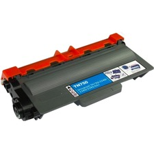 eReplacements TN-720-ER New Compatible Black Toner for Brother TN720, TN750